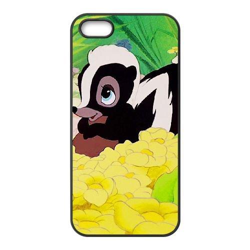 Bambi coque iPhone 4 4S Housse téléphone Noir de couverture de cas coque EBDOBCKCO10582