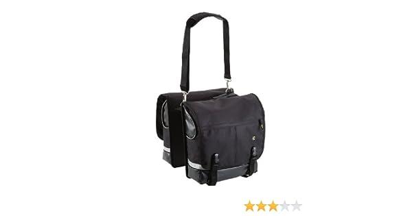 6b5a16d2fb6 Amazon.com : Cannondale Quick City Pannier Bag, Medium, Black : Bike  Panniers And Rack Trunks : Sports & Outdoors