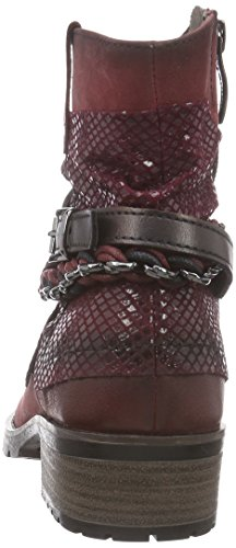 Tamaris 25311 Damen Kurzschaft Stiefel Rot (Bordeaux Comb 550)