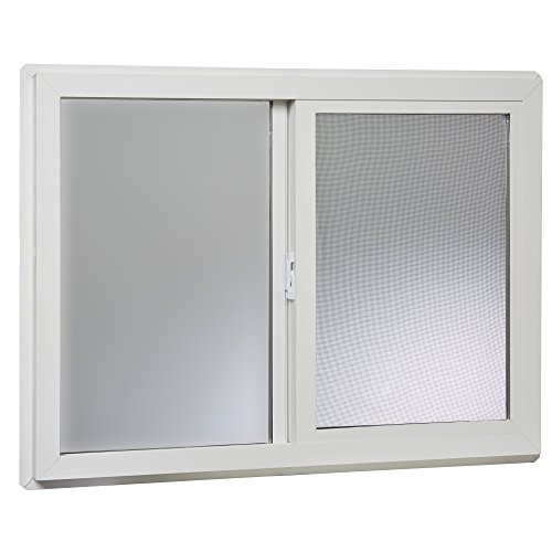 Insulated Vinyl Windows - Park Ridge VBSI3224PR Vinyl Basement Slider Window, 32