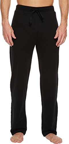 Polo Ralph Lauren Men's Waffle Knit PJ Pants Polo Black/Red Pony Player X-Large ()