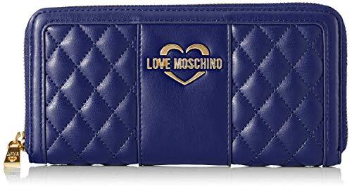 Bleu Moschino Portafogli Pu Quilted Love Blu Portefeuilles Nappa xv7Yqw7dSz