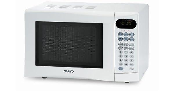 Sanyo EM-S1567 Blanco táctil Control Solo para horno: Amazon.es: Hogar