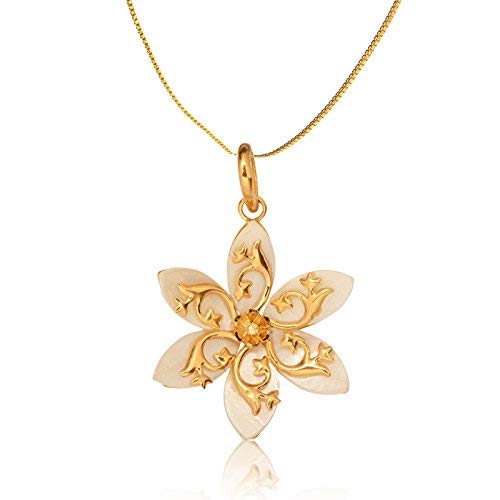 Buy Senco Gold 22kt Yellow Gold Pendant For Women At Amazon In