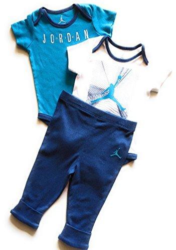 Nike Air Jordan 3 Piece Creeper and Pants Set - Boys Infant 9/12M