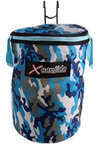 Camouflage Lidded Runde Fahrradkorb Vorne Korb Fahrradkorb Tasche