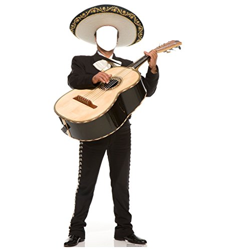 Mariachi Guitarron Stand-In - Advanced Graphics Life Size Cardboard Standup
