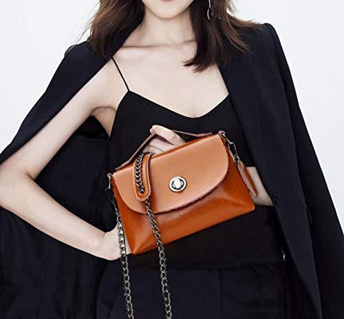 tracolla New spalla donna donna da da Misura Marrone Shoulder Borsa Colore borsa La a ROSA Borsa unica Taglia da Borsa wqz8OxwI