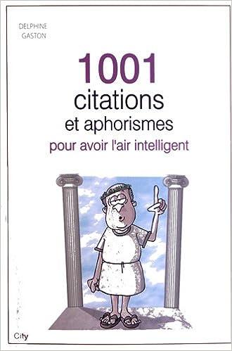 Livre 1001 mots d'esprits, aphorismes et maximes epub pdf