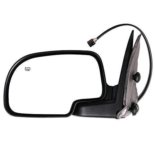 ECCPP Towing Mirror for 2000-2002 Chevy Avalanche Suburban Tahoe GMC Yukon XL Power Heated Left Driver Side Mirror GM1320249 128-02973L 15179836