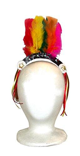 Native American Feather Headband ()