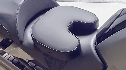 Cojín para sillín de moto y scooter, tamaño pequeño.: Amazon ...