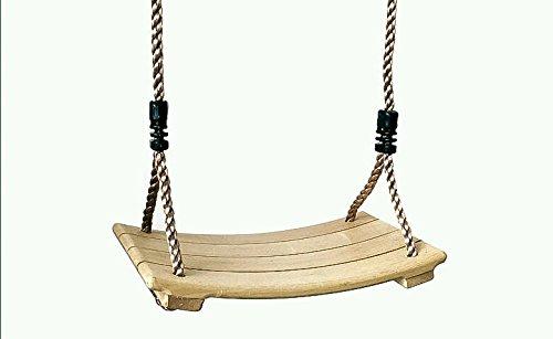 Kids adults wooden swings indoor outdoor garden playground for Indoor swing seat