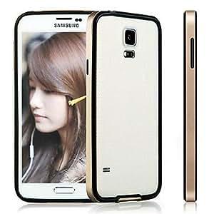 GX Teléfono Móvil Samsung - Contra Golpes - Diseño Especial - para Samsung S5 i9600 ( Negro/Azul/Amarillo/Dorado , Plástico/Silicona ) , Yellow