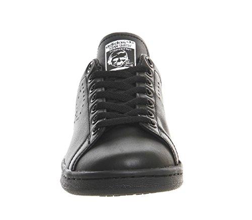 Adidas Heren Raf Simons Stan Smith Verouderde Zwart / Witte Lederen Kern Zwart / Ftwr Wit / Kern Zwart