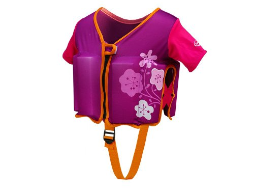 (SwimWays Swim Vest - Purple/Pink)