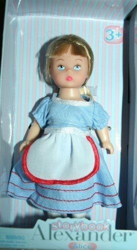 Madame Alexander Storybook Alice Mini Doll 5