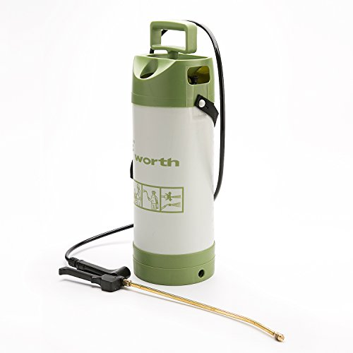 5L Pump Action High Pressure Sprayer Bottle,Manual Vapour-pressure Type Atomizer, Knapsack Spray Weed Killer with Brass Lance and Nozzle?Robust and comfort grip handle ()