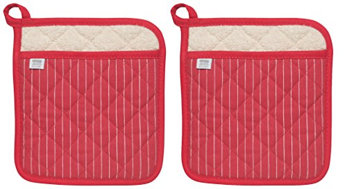 Now Designs Superior Potholders Pinstripe