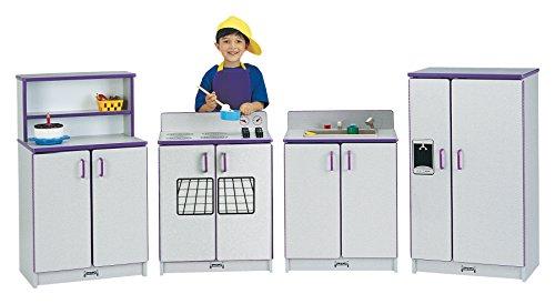 JonTi CrafT Rainbow Accents 0210JCWW004 Play Kitchen Refr...