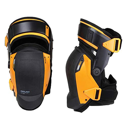 Toughbuilt KP-G3 Gelfit Thigh Support Stabilization Knee Pads - Ergonomic Fit from ToughBuilt