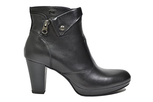 Nero Giardini Polacchini Chaussures Femme Noir 5961 A615961d