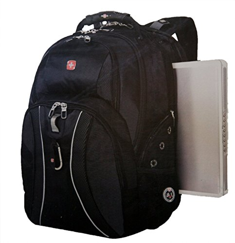 SwissGear ScanSmart Laptop Backpack Black