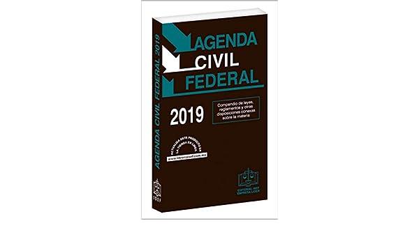 Amazon.com: AGENDA CIVIL FEDERAL 2019 (Spanish Edition ...