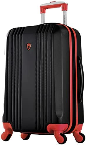 Olympia Apache Ii 21 Carry-on Spinner, BLACK RED, One Size