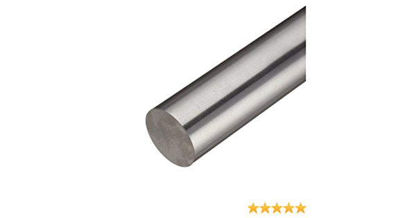 "1/"" Diameter 304 Stainless Steel Round Bar 12/'/' Length"