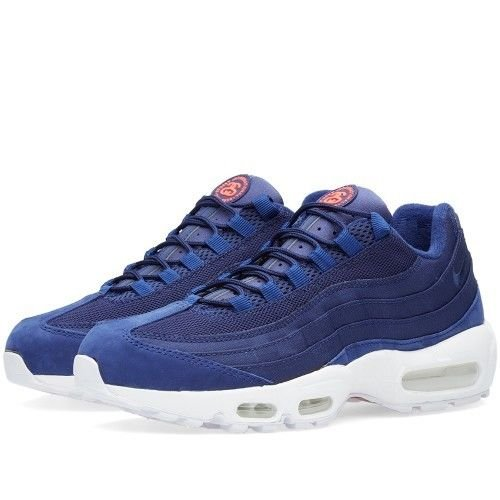 sale retailer cd19c d3b81 Nike AIR MAX 95   Stussy Loyal Blue-Loyal Blue-White SZ 11 Rare!   834668-441   Amazon.ca  Shoes   Handbags