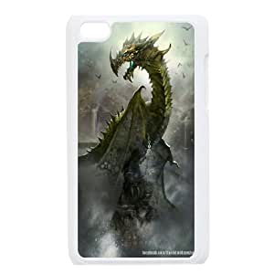Best Phone case At MengHaiXin Store Dragon Art Desigh Pattern 168 FOR IPod Touch 4th