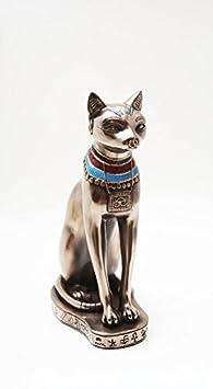 PTC 9.13 Inch Bastet Feline Egyptian Mythological Statue Figurine