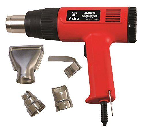 Astro Pneumatic Air Drill Kit (Astro 9425 Dual Temperature Heat Gun Kit)