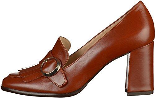 4 para Zapatos 10 de Tacón Högl Mujer Marrón 7013 0100 dFn0I