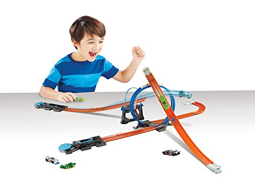 Hot Wheels Track Builder Starter Kit Play Set [Amazon Exclusive]