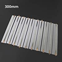 Tool Parts 10pcs 300mm Impulse Sealer Spare Parts Hand Sealer Teflon Belt + Heat Wire,Heating Wire Heater Element for 300mm Hand Sealer - (Specification: 300 4mm)