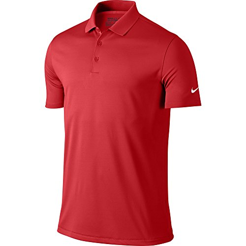NIKE Men's Dry Victory Polo, University Red/White, 3X-Large