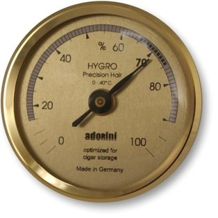 Hair Hygrometer (Adorini Hair Analog Hygrometer Made in Germany)