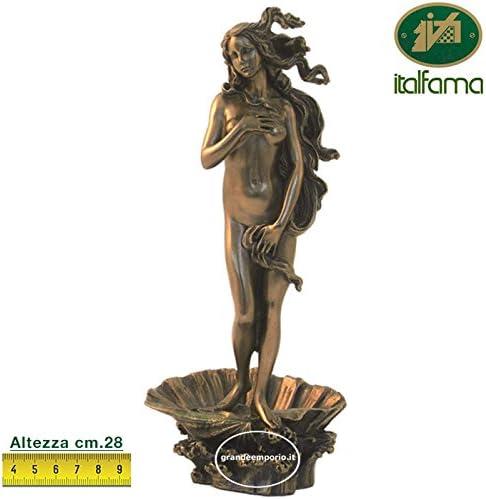 Estatua de la Venus naciente de Botticelli, de resina bronce ...