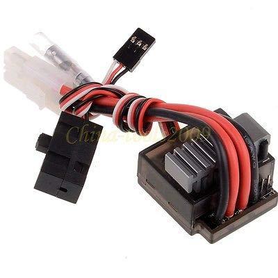 FidgetGear 03018 320A Brushed Brush Speed Controller ESC for RC 1/10 Car HPI Redcat from FidgetGear