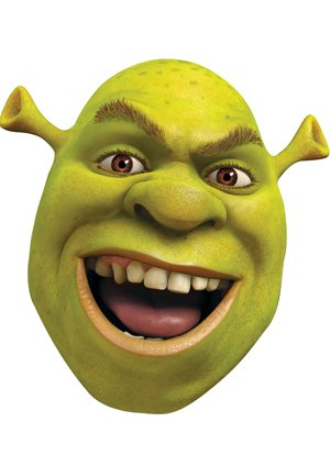 shrek movie celebrity face mask amazon co uk toys games rh amazon co uk Shrek the Musical Logo Toy Story 2 Logo