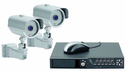 Price comparison product image Friedland Response CWK4 2-Heavy Duty Wired Colour Camera CCTV Kit by Friedland Response