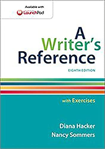 Amazon.com: A Writer's Reference with Exercises (9781457686542 ...