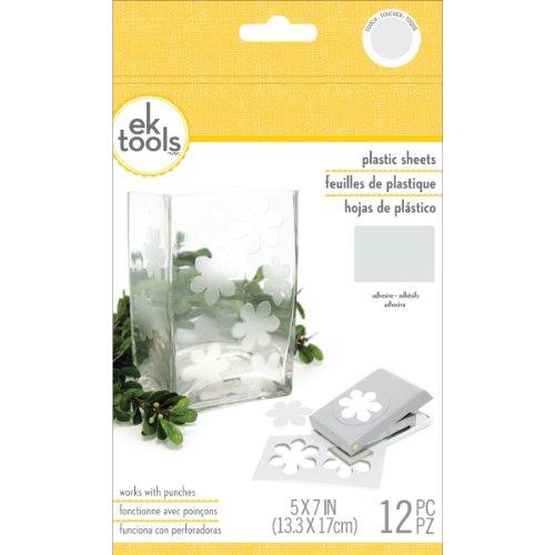 EK Success 55-59010 Frosted Plastic Punch Material Pack by EK Success