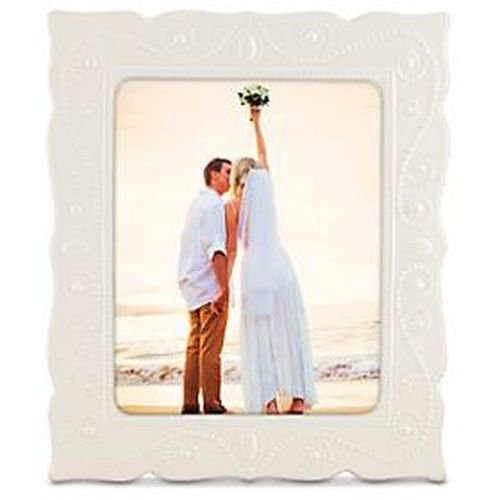 Lenox French Perle White 8x10 Frame