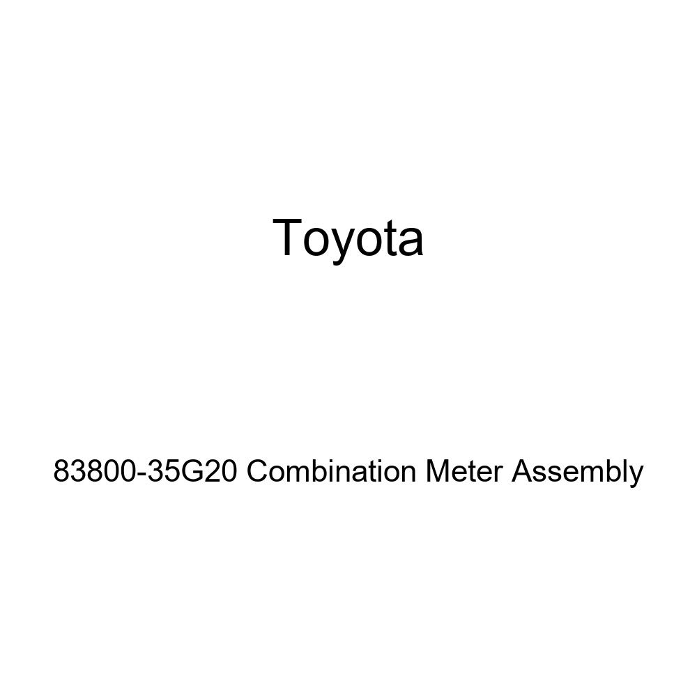 Toyota Genuine 83800-35G20 Combination Meter Assembly