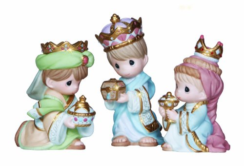 Precious Moments Kings Figurine, Set of 3