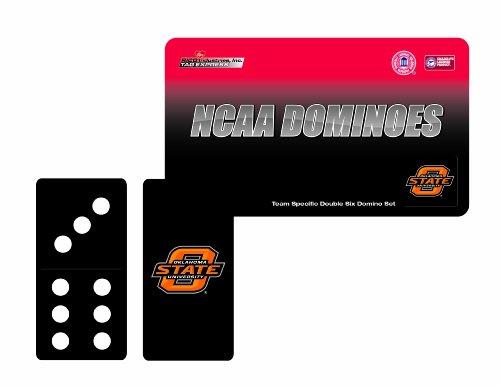NCAA Oklahoma State Cowboys Domino Set in Metal Gift Tin - Oklahoma State Game