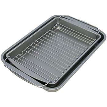 Amazon Com Ovenstuff Nonstick Bake Broil Amp Roast Pan 3